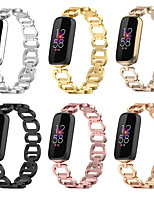 cheap -Smart Watch Band for Fitbit 1 pcs Modern Buckle Stainless Steel Replacement  Wrist Strap for Fitbit Luxe