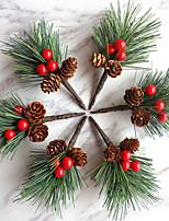 cheap -6pcs Christmas Decorations Holiday Christmas Ornaments Holiday Decorations Party Garden Wedding Decoration 5*12 cm