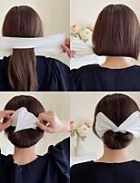 cheap -11 Pcs/set Women Elegant Franch Style Bun Quick Setting Strip Tools Headband Hair Hold Hairband Hairpins Fashion Hair Accessories