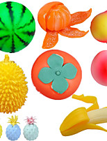 cheap -Creative new exotic fruit pinch music Decompression toys Fruit modeling vent Decompression toys