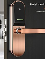 cheap -New Fashion Smart Rfid Hotel Lock System Rf Card Electronic Door Handle Lock Smart Hotel Door Lock System Price