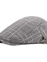 cheap -Men's Protective Hat Street Dailywear Pure Color Color Block Grey Blue Hat