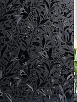 cheap -No Glue Window Film Vinyl Static Anti Uv Privacy Glass Sticker Home Kitchen Office Decorative Tulips Glass Film 100*45cm