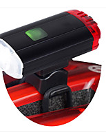 cheap -LED Bike Light Waterproof Clips and Mounts Safety Light LED Bicycle Cycling Waterproof Rotatable Portable Professional Rechargeable Li-Ion Battery 400 lm Rechargeable Battery Natural White Camping