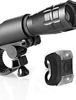 cheap -LED Bike Light LED Light Handheld Flashlights / Torch Front Bike Light LED Bicycle Cycling Waterproof Easy Carrying Quick Release Durable Li-polymer 400 lm Built-in Li-Battery Powered Natural White