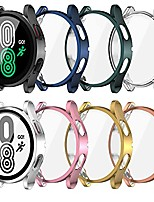cheap -[8 pack]samsung galaxy watch 4 40mm screen protector case, soft slim tpu all around protective shell anti-scratch bumper cover case for samsung galaxy watch 4 accessories