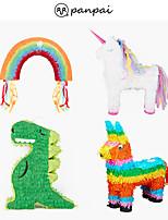 cheap -panpai pinata children's birthday party supplies party games smashing sugar props beat pinata big color donkey