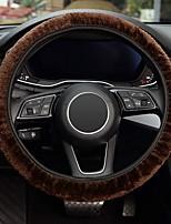 cheap -Elastic Long Microfiber Plush Steering Wheel Cover for Winter Warm  Universal 15 inch Anti-Slip  Odorless