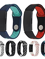cheap -Smart Watch Band for Fitbit 1 pcs Sport Band Silicone Replacement  Wrist Strap for Fitbit Inspire HR Fitbit Inspire