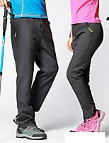 cheap -Men's Women's Fleece Lined Pants Hiking Pants Trousers Softshell Pants Winter Outdoor Thermal Warm Waterproof Windproof Breathable Bottoms Men's-black Men's-Army Green Men's-gray Women's-Army Green