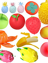 cheap -Fidget Mochi Creative New Squish Slow Rebound Vent Toy Simulation Fruit pinch Music Squishy Anti-stress For Hand Squeeze Toy