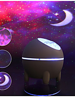 cheap -Star Galaxy Projector Light Remote Controlled Star Light Projector Laser Light Projector Party Wedding Bedroom Red
