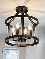 cheap -32 cm Island Design Semi-Flushmount Pendant Lights LED Metal Vintage Style Painted Finishes Vintage Country 220-240V