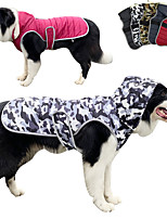 cheap -autumn and winter hooded dog clothes camouflage pet clothes waterproof cowboy dog clothes dog padded clothes cross-border clothing
