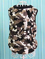 cheap -2017 spring and summer new dog vest camouflage vest teddy pomeranian bichon puppies dog vest