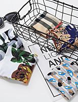 cheap -Men's Basic Print Simple Plant Basic Panties Briefs Underwear High Elasticity Low Waist Army Green M / Sexy