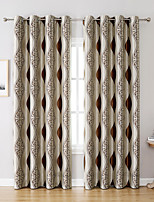 cheap -1 Panel Window Curtain for Bedroom Grommet Top Room Darkening Curtains for Living Room