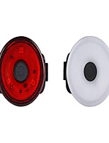 cheap -LED Bike Light Rear Bike Tail Light Bicycle Cycling Waterproof Lightweight Easy Carrying Button Battery 320 lm Button Natural White Red Camping / Hiking / Caving Everyday Use Diving / Boating