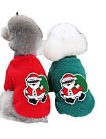 cheap -dog clothes autumn and winter clothes pet clothes new teddy small dog pet clothes winter 21 christmas tree fleece