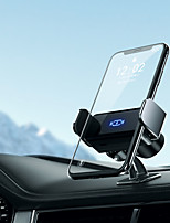 cheap -Car Holder Auto-Clamping Hands Free Car Mount Phone 360Rotation Holder for Car Dashboard Compatible with iPhone 13/12/Mini/11 Pro Max Samsung S21 S20 All Phone Built-in Atmosphere Led Lights