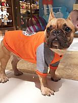 cheap -pet clothes bulldog dog clothes autumn and winter new pug pekingese shar pei dog bulldog sweater