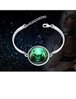 cheap -Men's Women's Bracelet Geometrical Totem Series Stylish Silver Plated Bracelet Jewelry Silver For Halloween Street Daily