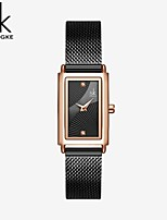 cheap -Shengke Women Watches Fashion Geneva Designer Ladies Watch Luxury Brand Rectangle Quartz Wrist Watch Luxury Gifts For Women