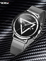 cheap -SINOBI Creative Design Man Watch Triangle Chronograph Watch Fashion Sports Men's Multifunctional Quartz Wristwatches