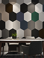 cheap -Wallpaper Wall Covering Sticker Peel and Stick Removable Geometry  PE Home Decor 35*50cm