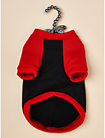 cheap -Dog Cat Sweatshirt Dog clothes Quotes & Sayings Christmas Classic Style Casual / Sporty Dailywear Casual / Daily Winter Dog Clothes Puppy Clothes Dog Outfits Warm Black Costume for Girl and Boy Dog