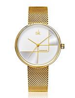cheap -Shengke Gold Watch Women Watches Ladies Milan Mesh Steel Women's Bracelet Watches Female Clock Relogio Feminino Montre Femme