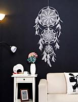 cheap -Bronze heart feather color catch dream net birthday gift handmade wind chimes pendant metal dream net home ornament