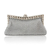 Satin With Austria Rhinestones/ Aluminiumsheet Evening Handbags/ Clutches More Colors Available