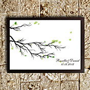 Personalized Fingerprinting Paint - Trees (Includes 6 Ink Colors, Frame Not Included)