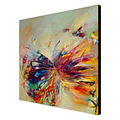 Hand Painted Oil Painting Abstract Butterfly Modern Canvas Art Ready to Hang