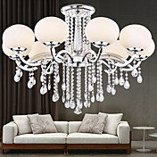 European Style Elegant Luxury 9 Light Crystal Chandelier