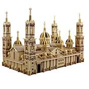 3D - Puzzle Holzpuzzle Modellbausätze Kir...