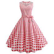 Audrey Hepburn Country Girl Plaid Retro /...