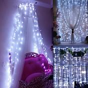 Window Curtain String Light,3 X 3m 300 LE...