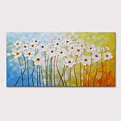 Oil Painting Hand Painted - Abstract Flor...