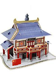abordables -3 d pubs de modèle de bâtiment de puzzle en Chine
