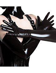 cheap -Women's Witch Queen Cosplay Sexy Uniforms Sex Zentai Suits Gloves Catsuit Solid Colored Gloves