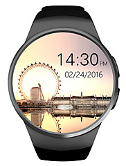 cheap -KING-WEAR® KW18 Smart Watch Bluetooth Fitness Tracker Support Notify/ Heart Rate Monitor Sports Smartwatch Compatible Iphoen/ Samsung/ Android Phones