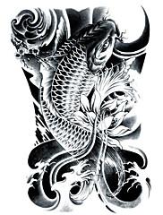 abordables -Los tatuajes temporales Impermeable / 3D Rostro / manos / brazo CLORURO DE POLIVINILO Tatuajes Adhesivos