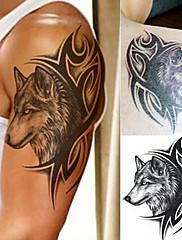 abordables -3 piezas tatuajes temporales diseños de tatuajes pegatinas de tatuaje a prueba de agua / 3d cuerpo / hombro / pierna pegatinas de tatuaje de papel f-047