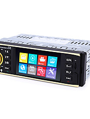 cheap -4019B 4.1 inch 1 Din Windows CE 5.0 Car Radio MP3 player Auto Audio Stereo 1Din USB AUX FM Radio Station Bluetooth with Rearview Camera Remote control