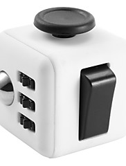 cheap -Fidget Desk Toy Fidget Cube Creative for Killing Time Stress and Anxiety Relief Focus Toy Office Desk Toys Relieves ADD, ADHD, Anxiety, Autism Kid's Adults' Girls' Plastic