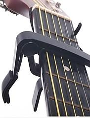 abordables -Guitarra Capo Aleación de aluminio Guitarra Acústica Ukelele Guitarra Eléctrica Ligero String Instrument para guitarras acústicas y eléctricas Accesorios para instrumentos musicales 1 pcs