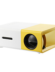 cheap -YG300 Home Theater Cinema USB HDMI AV SD Mini Portable HD LED LCD Projector Beamer Home Media Movie Player Support 1080P AV USB SD Card 320 x 240 HDMI / USB / AV / CVBS for Home School Office
