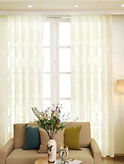 cheap -Contemporary Sheer Curtains Shades Sheer Living Room   Curtains